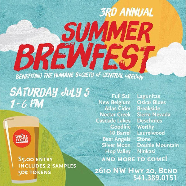 3rd Annual Whole Foods Market Summer Brewfest